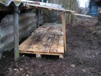 Holzlager II